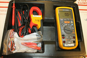 Fluke 1587 Digital Fc Insulation Multimeter 1000v With I400 Current Clamp