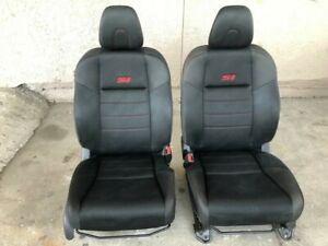 2012 Honda Civic Si Coupe Front Seats