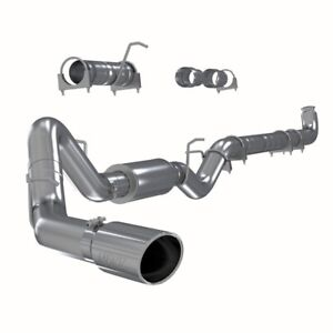 Mbrp S6004409 4 Stainless Exhaust For 2001 2007 Silverado Sierra 6 6l Duramax