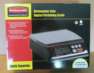 Rubbermaid 6 Lb Digital Portioning Scale 1812593