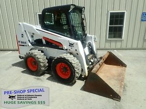2016 Bobcat S630 Skid Steer Erops Heat ac 2 Spd 499 Hrs Aux Hydraulics 74hp