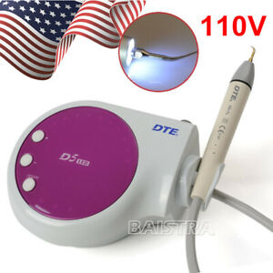 Dental Woodpecker Ultrasonic Piezo Scaler Dte D5 Led Scaler Satelec Tips Purple