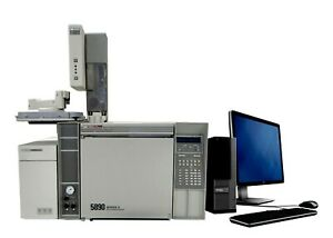 Hp 5890 Series Ii Gc With Hp 5972 Msd 7673 Autosampler
