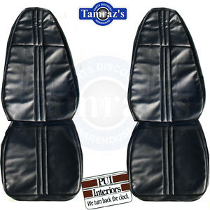 1971 Barracuda Cuda Challenger Standard Front Rear Seat Covers Upholstery Pui