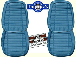 1970 Firebird Front Rear Seat Upholstery Covers Deluxe Interior Pui New