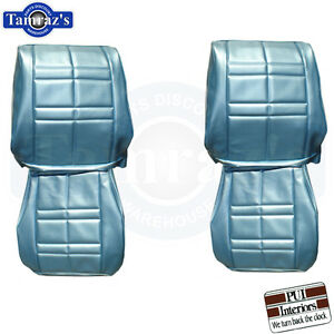 65 Cutlass Sport Front Rear Seat Upholstery Covers Sedan New Pui