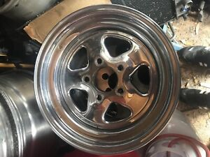 Original Gm 15 X 7 Inch Chevy Rally Wheel 5 On 4 3 4 Pattern Fw Wheel Code