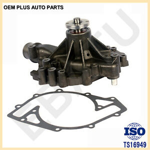 New Engine Water Pump For 1992 94 Ford 7 5l E 350 Econnoline 460 Ford Truck