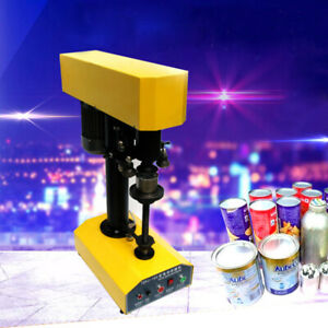 Sealing Machine For Various Circular Iron Glass Plastic And Paper Cans Sealing