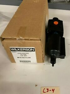 New Wilkerson Coalescing Filter 1 4 Npt M18 02 cl00 Warranty Fast Shipping