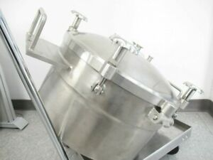 Stainless Steel Pressurized Tank 80 Liters 24galon used Tested