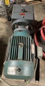 Reliance Electric Motor 20 Hp W Falk Speed Reducer 09ucbn2a5