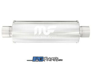 Magnaflow Universal Straight Through Muffler 3 Inlet 3 Outlet
