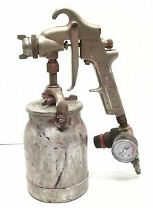 Binks Model 37 Spray Paint Gun Air Compressed Pneumatic Automotive Collision