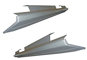 Slip on Rocker Panel 99 06 Gmc Sierra Chevy Silverado Avalanch Crew Cab Pair