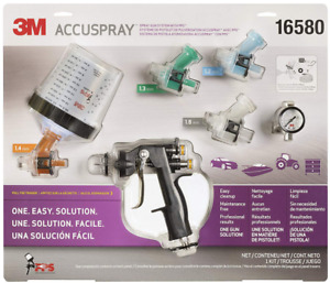 3m 16580 Accuspray Spray Gun System With Standard Pps