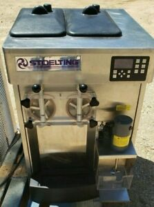 2015 Stoelting Sf121 Soft Serve Ice Cream Counter Top 1ph Air Cooled