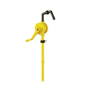 Anti Corrosion Rotary Hand Pump For Water Diesel Oil Faucet 16 To 58 Gallons