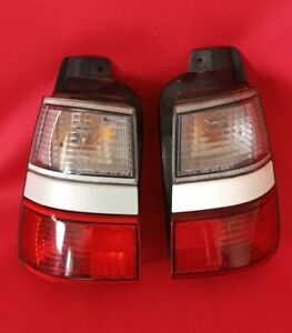 Jdm Toyota Corolla Ae100 Ae101 93 97 Tail Lights Pair Lamps Red Clear Wagon