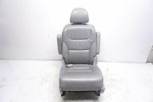 05 06 07 08 09 10 Honda Odyssey 3 5l Rear Driver Seat Leather Gray 81721 shj a41