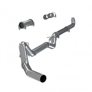 Mbrp S6004slm 4 Stainless Straight Pipe Exhaust For 2001 2007 Gm 6 6l Duramax
