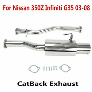 Nissan 350z Exhaust In Stock, Ready To Ship | WV Classic Car