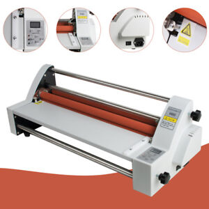 17 hot Cold Roll Laminator Single dual Sided Laminating Machine High Quality