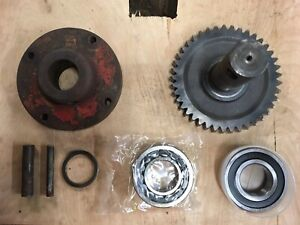 900 81687 Disc Drive Shaft gear Assembly For Vicon Cm240 Disc Mower