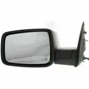 Fit Dodge Ram Truck 2009 2010 2011 2012 2013 Mirror Power Heated W Chrome Left
