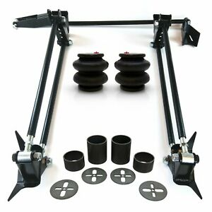 Weld On Parallel 4 Link Suspension Hot Rod Rat Truck Classic Car Air Ride Kit 3