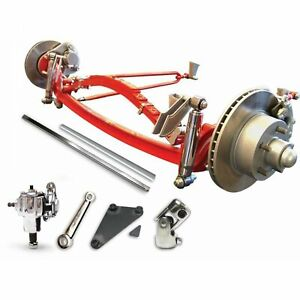 1928 1931 Ford Model A Super Deluxe Four Link Solid Axle Kit 5x4 5 Hot Rod