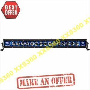 Rigid Industries 30 Led Light Bar Broad Spot Radiance Plus Blue Backlight