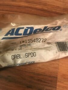 15549272 Gm Ac Delco Speedometer Cable Chevy Gmc Nos