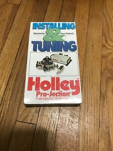 Holley Pro Jection Fuel Injection Systems Vhs Tape 36 187