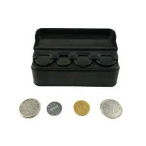 Taxi Car Coin Change Dispenser Plastic Coin Storage Box Case Container Organizer