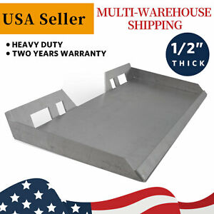 1 2 Skid Steer Mount Plate Loader Quick Attachment Adapter For Bobcat