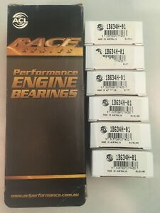 New Acl Performance Rod Bearing Set Of 6 1b634h 01 Ford V8 289 302 5 0 Windsor
