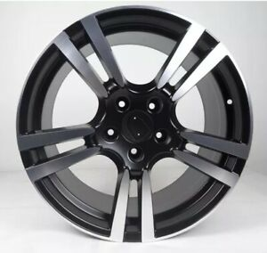 20 Porsche Cayenne Wheels Rims Turbo 2 911 Boxster Cayman Staggered Black New