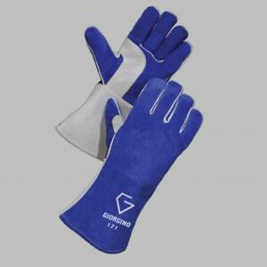 Gloves Castle 121 Premium Grade Stick Welding Gloves 6 Pairs Large