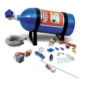 Nos 16028nos Ntimidator Illuminated Led Nitrous Purge Kit