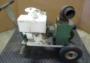 Teel Dayton Electric 3p582b Centrifugal Water Pump 3 Discharge With Briggs An