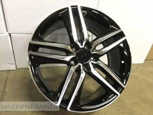 19 New Accord Sport Style Wheels Rims Black Fits Honda Crv Odyssey Acura Tsx Tl