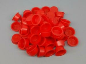 100pc 1 Plastic Fireworks Plugs End Caps For Pyro Cardboard Tubes Salute