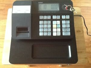 Casio Pcr t273 Electronic Thermal Printer Cash Register With All 3 Keys