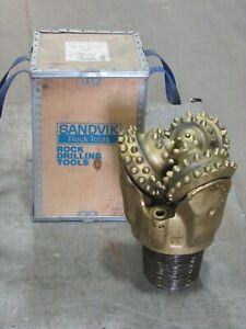 New Sandvik Rock Drill Bit 10 5 8 Tricone Rollerbit Gas Oil Water Well