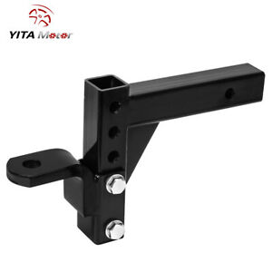 Yitamotor 10 Adjustable Ball Mount Trailer Drop Hitch Tow 2 Receiver Truck