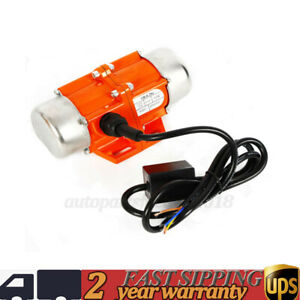 Fast Heat Dissipation Ac Vibrator Motor 40 50 100w Red Asynchronous Vibrator New