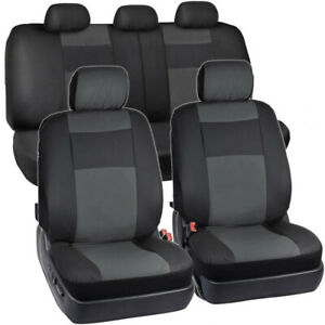 Pu Leather Auto Seat Cover Car Front Seat Back Universal Car Seat Protector N2s7