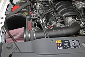 K N Performance Cold Air Intake Kit Fits 14 19 Gmc Chevy 6 2 5 3 Carb Approved