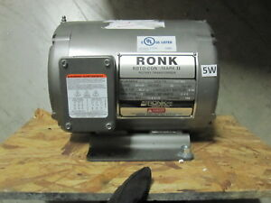 Ronk Roto con Mark Ii Electrical Power Phase Converter Model 92 2 Hp Type 2p 4p